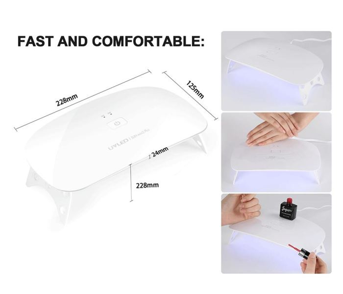 Genz 24W Uv Led Nail Dryer/curing Lamp Genzproduct