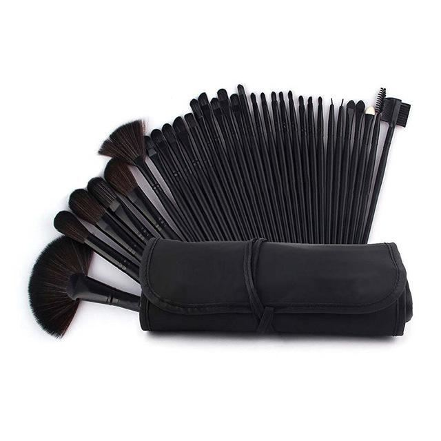 32 Pcs Makeup Brush Beauty Set Black / United States Brushes Genzproduct