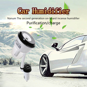 Mini Car Humidifier / Air Purifier / Aromatherapy Essential Oil Diffuser