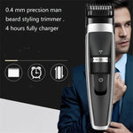 USB rechargeable portable Electric Man Grooming Beard Trimmer / Shaver