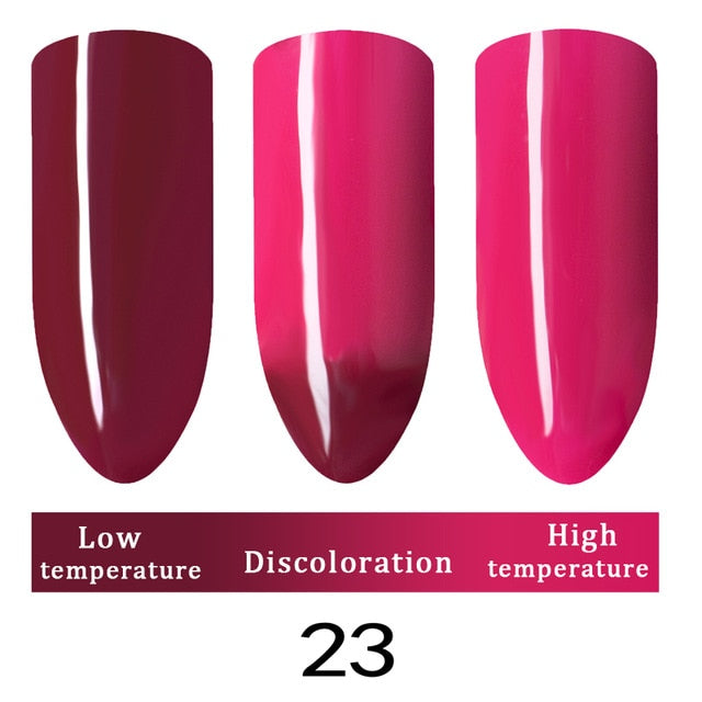 10ml Nail Polish Gel Temperature Change Color UV LED Nail Art lacquer
