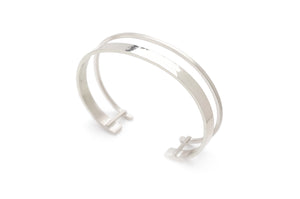 Waterway Cuff in Silver