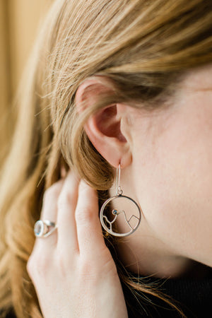 Teton Mountain Earrings