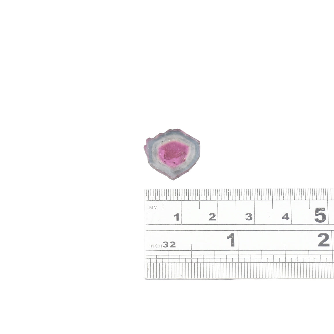 5.87ct Pale blue edge, pale pink core