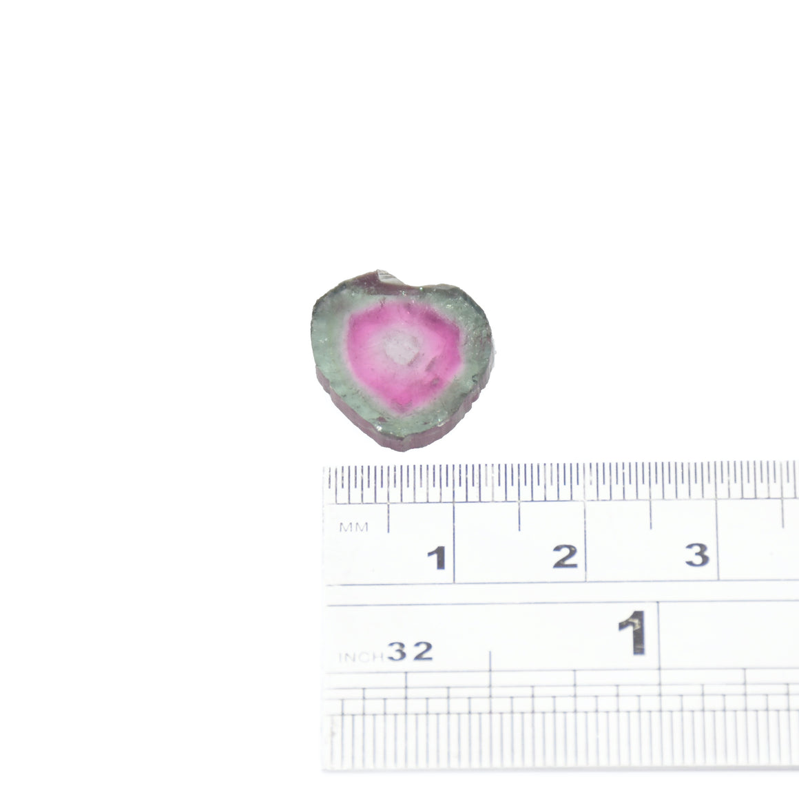 6ct Teal Edge, Light Pink Core