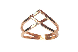 Woven Ring in 14k Gold