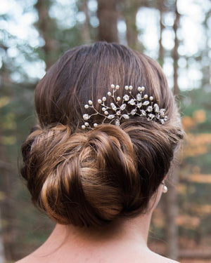 Large Flower Haircomb
