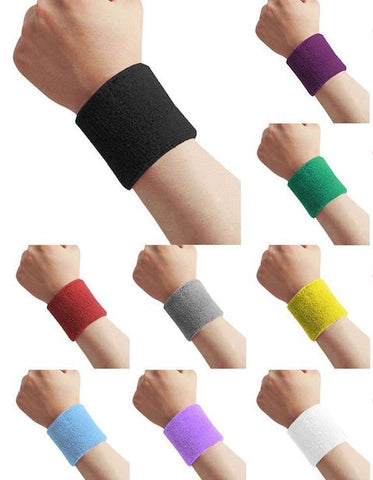 Wrist Bands - Assorted Colours