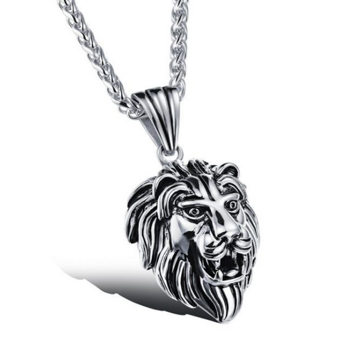 Black Lion Charms Necklace- $9.95 Special.