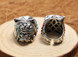 Bulldog Silver Ring