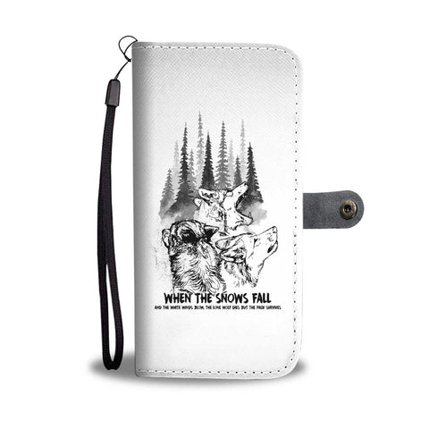 The Pack Survives - Wallet Case
