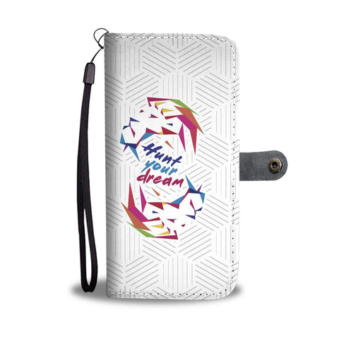 "Lion ""Hunt Your Dream"" - Wallet Case"