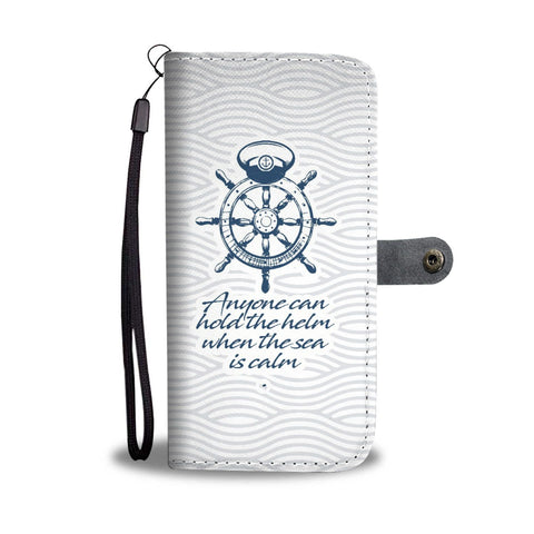 Hold the Helm - Wallet Case