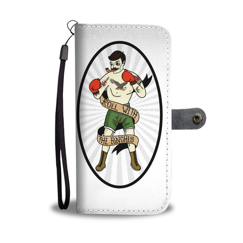 ROLL WITH THE PUNCHES - BOXING Wallet Case