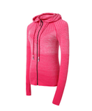 Sports Hoodie Slim Zip Yoga Sports Jacket