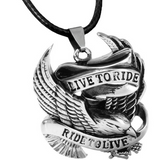 Beier Live To Ride Necklace Pendant