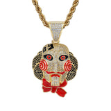 Chainsaw Cry Mask Doll Pendant