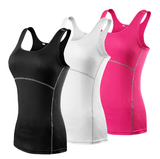 Women Yoga Sports Vest Fitness Tight Sleeveless Tank Top