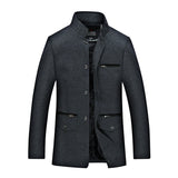 Men's Stand Collar Casual Jacket