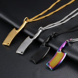Stainless Steel Necklace Colorful Flare