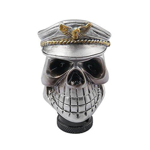 Navy Captain Skull Gear Shift Knob
