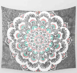 Indian Mandala Tapestry Flower