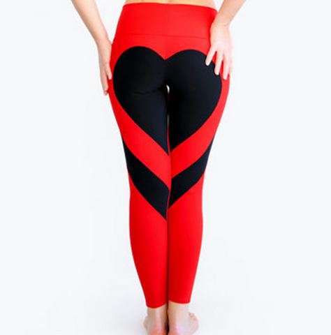 Color Splicing Yoga Gym Leggings