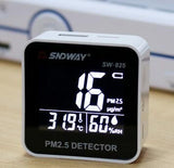 Digital Air Quality Monitor Laser PM2.5 Detector