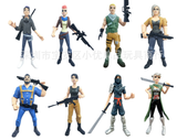 Fortnite model toy with 8 piece
