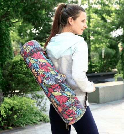 Multi-function yoga bag