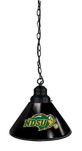 North Dakota State Pendant Light with Black Shades
