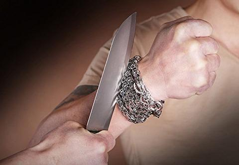 Self Defense Full Steel Bracelet Chain