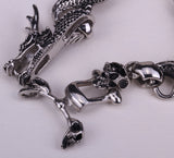 Men's Dragon Skull Bracelet Chain