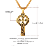 Christian Odin's Horn Pendant - (Self-Defense Chain Attachable - See Description for Compatibility)