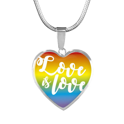 Love is Love Necklace & Bangle