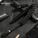 FREE SOLDIER outdoor sports tactical military survival tools for camping hiking men's survival fitting