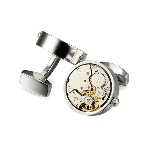 Functional Steampunk Cufflinks