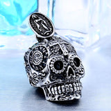 Gothic Necklace Skull