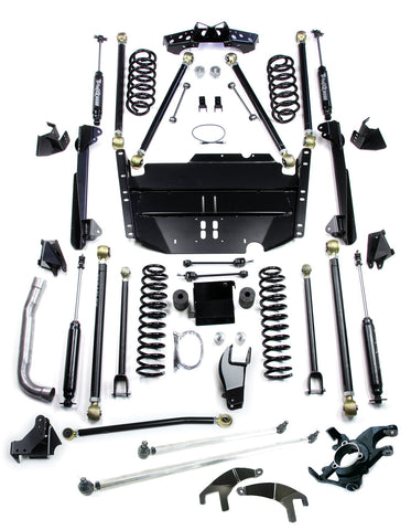 TJ 5 Inch Pro LCG Lift Kit W/High Steer And 9550 Shocks 97-06 Wrangler TJ TeraFlex