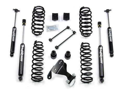 JK 4 Door 2.5 Lift Kit W/9550 Shocks 07-Pres Wrangler JK Unlimited TeraFlex