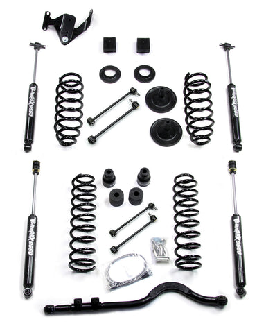 JK 4 Door 3 Inch Lift Kit W/9550 Shocks And Trackbar 07-Pres Wrangler JK Unlimited TeraFlex