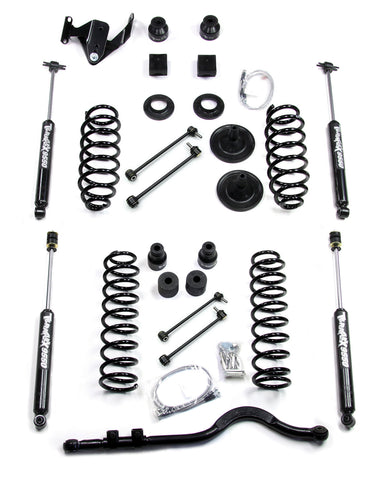 JK 2 Door 4 Inch Lift Kit W/9550 Shocks And Trackbar 07-Pres Wrangler JK TeraFlex