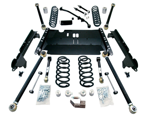 TJ Unlimited 3 Inch Enduro LCG Long FlexArm Lift Kit 04-06 Wrangler TJ Unlimited TeraFlex