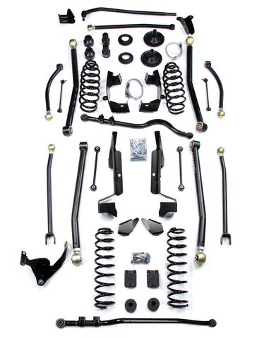 JK 2 Door 6 Elite LCG Long FlexArm Lift Kit 07-Pres Wrangler JK TeraFlex