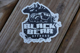 Black Bear Off-Road Logo Sticker