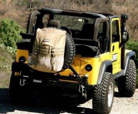 Trasharoo: Off-Road Spare Tire Trash Bag