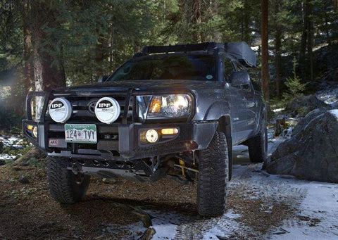 ARB: Toyota Tacoma Deluxe Bull Bar Winch Mount Front Bumper