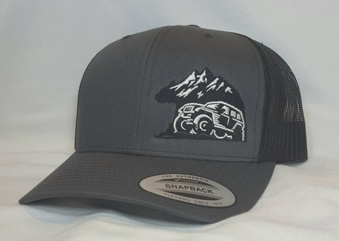 Black Bear Off-Road Snapback Hat