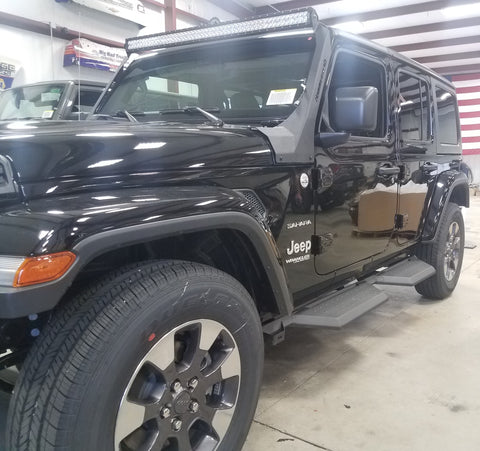Hammer Head: X Series 4-Door Running Boards Jeep JL (2018- Present)
