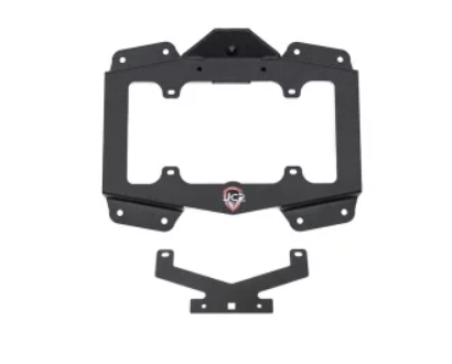 JCR Offroad: Tire Carrier Delete License Plate Mount Jeep JL (18-Present)